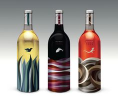 Very intrigued by these visuals!  Mayrah Wine by Eulie Lee, via Behance