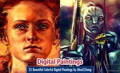 25 Beautiful Colorful Digital Paintings and Illustrations by AliceXZhang. Read full article: http://webneel.com/webneel/blog/25-beautiful-color-bursting-illustrations-and-digital-paintings-alice-x-zhang | more http://webneel.com/digital-artworks | Follow us www.pinterest.com/webneel