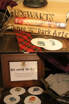 GREAT Harry Potter party ideas