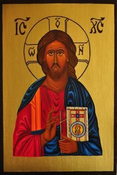 1 September - Today's favourite lot - how about this interesting hand painted image on a wooden base of Christ Pantocrator.  The painting measures 26x17cm/10x7in and has been done using oil paints and golden paint, according to the rules and symbolism: green- eternity, hope, and youth; blue- heaven, depth, and mystery; red- human nature, and martyrdom; and, gold- means light. On sale for £30.  For more details please visit http://www.vintassion.com/icons-uk/S50