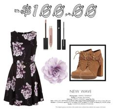 """""""I ain't paying $100"""" by camdab8572 ❤ liked on Polyvore featuring BCBGeneration, Burberry, Lancôme and Cara"""