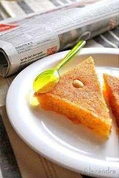 Σάμαλι τέλειο! Greek Sweets, Greek Desserts, Greek Recipes, Greek Cake, Middle Eastern Desserts, Greek Cooking, Sweet Tooth, Sweet Treats, Food And Drink