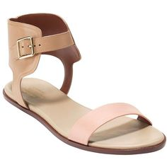 Cole Haan Barra Leather Gladiator Sandals featuring polyvore, women's fashion, shoes, sandals, beige, gladiator shoes, greek sandals, greek leather sandals, ankle strap gladiator sandals and leather shoes