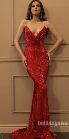 Sparkly Sequin Different Colors Mermaid Backless V-neck Sexy Prom Dresses Sequin Prom Dresses, V-Neck Prom Dresses, Prom Dresses Backless, Prom Dresses Mermaid, Prom Dresses Sexy Prom Dresses 2019 Sparkly Prom Dresses, Backless Prom Dresses, Mermaid Prom Dresses, Sexy Dresses, Beautiful Dresses, Dress Prom, Long Tight Prom Dresses, Red Lace Prom Dress, Red Sequin Dress