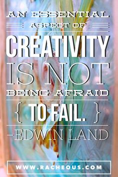 Creativity doesn't care about your rules