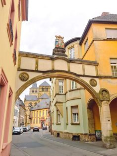 Trier Germany is located in the Moselle wine region, near the Luxembourg border. Known as one of the oldest city in Germany. Cities In Germany, Germany Castles, Old City, Luxembourg, Belgium, Old Things, Adventure, Mansions, House Styles