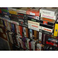 Problem Of The Day: Do you have closets full of your old favorite VHS  tapes? Your favorite classic movies and home videos are trapped on the tapes and you don't want to buy an outdated VHS player. How will you remember all the fond memories of family chaos?!