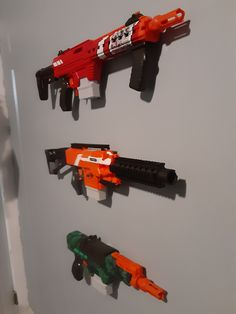 Wall Racks, Wall Storage, Closet Storage, Wall Hanger, Nerf Gun Storage, Army Costume, Nerf Mod, Toy Storage Solutions, Big Boy Bedrooms