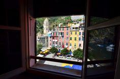 Great View from Casa Ziella http://www.cinqueterreriviera.com/cinqueterre/services-for-travelers/casa-ziella-vernazza/