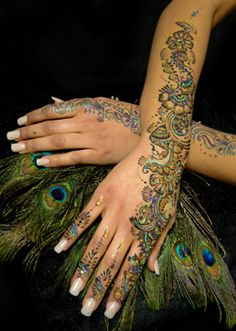 Glitter Henna