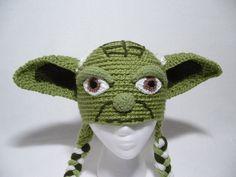 Yoda Hat Star Wars Fans Hat All Sizes Ear Flap by ElenasBabyCorner, $28.00