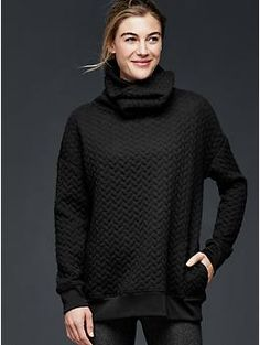 GapFit cable-knit pullover | Gap