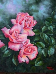 Opalescent Roses