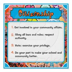 Citizenship (Character Traits Posters)