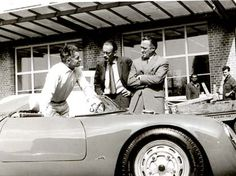Herbert von Karajan Porsche 550