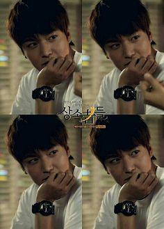 Lee Min Ho as Kim Tan  Eh kung titigan ka ba naman ng ganyan!