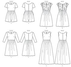 McCall6923 | Misses'/Miss Petite Dresses | New Sewing Patterns | McCall's Patterns
