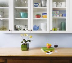 Glass shelving helps create feeling of space.  More tips here http://www.ljhooker.com.au/myljhooker/dvd