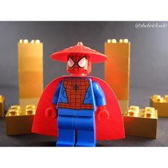 Sensei Spiderman =================================== #lego #spiderman #sensei #marvel #marvelcomics #amazingspiderman #superheroes #superhero #hero by thebrickside