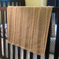Daily Knit Pattern: Heavenly Baby Blanket