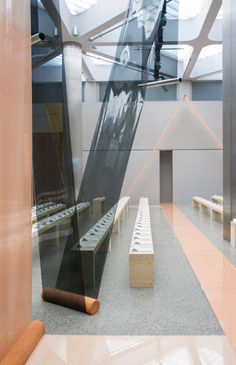 """Formafantasma Uses Terracotta And PVC To Create """"deconstructed Architecture"""" For Sportmax Catwalk 