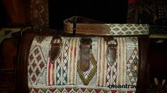 Bag travel kilim with belt leather - http://oleantravel.com/bag-travel-kilim-with-belt-leather