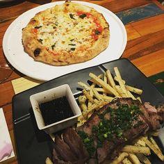 #ピザ #肉 #イタリアン #ワイン #pizza #bbq #frenchfries #秋葉原 #akihabara