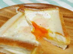 【アノ方法で】卵が流れ出ない「カルボナーラトースト」を作ってみた! | クックパッドニュース