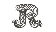 Scandinavian Trademarks The Black Harbor in Typography