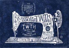 steve simpson illustration | Organic Hand Lettering by BND Design – France | ILLUSTRATION AGE