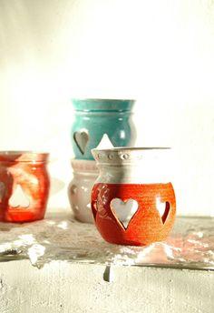 Ceramic essential oil burner by concreta on Etsy, €20.00