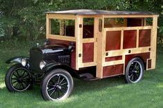 1925 Ford Model T Camper
