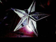 Items similar to Paper Star Lantern; Home Decor; Wireless Light on Etsy 3d Paper Star, Paper Stars, Bohemian Lighting, Paper Star Lanterns, Living Room Bar, Silhouette Studio, Vector Graphics, Paper Design, Cricut Design