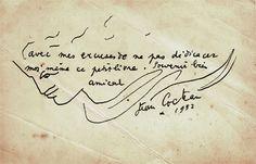 enveloppe Jean Cocteau 1952