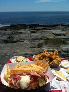 Lobster Shack, Cape Elizabeth Maine, Summer of 11 Stop here every summer when visiting my sister!