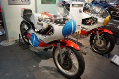 Agostini YZR350 and YZR500 1974 and 1975