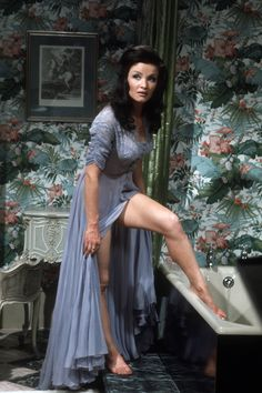Former Dynasty star Kate O'Mara: a life in pictures Color Television, Scream Queens, Vintage Tv, British Actors, The Guardian, Doctor Who, Beautiful People, Dancer, Sari