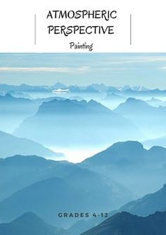 This lesson and project introduces students to the concept of atmospheric perspective. Students will learn or review tints and shades, then create a landscape painting of their own, using a monochromatic color scheme and displaying atmospheric perspective.