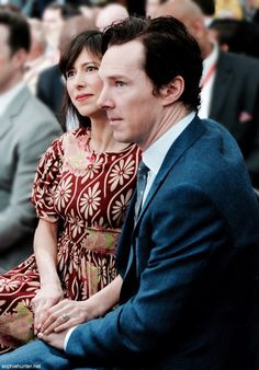 """""""Thank God Sophie was there…""""-Benedict Cumberbatch, May 2016 #SophieHunter #BenedictCumberbatch"""