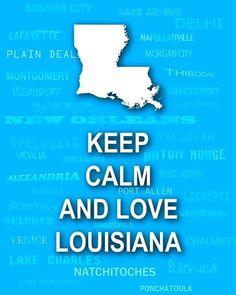 Love Louisiana! I do! I do!  :)