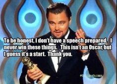 Golden Globes for Dicaprio