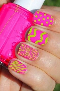 cute nail art designs for teens 2014