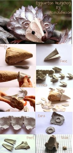Well, egg carton craft ideas are not as difficult as they might appear at the first glance. These Egg Carton Crafts for Kids above will make you want to get Kids Crafts, Animal Crafts For Kids, Cute Crafts, Projects For Kids, Art For Kids, Craft Projects, Arts And Crafts, Paper Crafts, Egg Carton Art