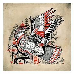 Love Hawk Tattoo Studio - David Hale of Athens Georgia - Meet the Love Hawk Hawk Tattoo, 4 Tattoo, Tatoo Art, Fox Tattoos, Tree Tattoos, Deer Tattoo, Raven Tattoo, Samoan Tattoo, Polynesian Tattoos