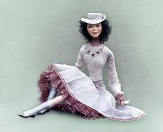 Ellen Art Doll OOAK  polymer clay  Handmade doll  by Vladdolls