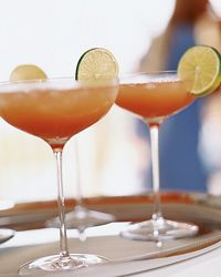 This one really sounds delicious to me as it had a couple of my favorite things. It is a Blood Orange margarita with Ginger. OH YUM.