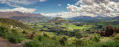 Crown Range Road Viewpoint New Zealand Panorama - Joan Carroll