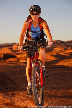 Mountain biking on the Slickrock Trail, Moab, Utah :)