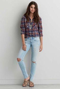 AEO Denim X Skinny Jean - Buy One Get One 50% Off