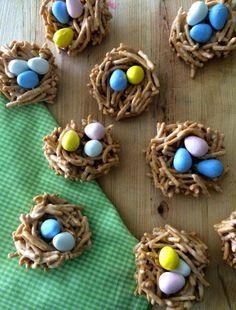 Easter Nest Cookies - The Preppy Hostess  thepreppyhostess.blogspot.com